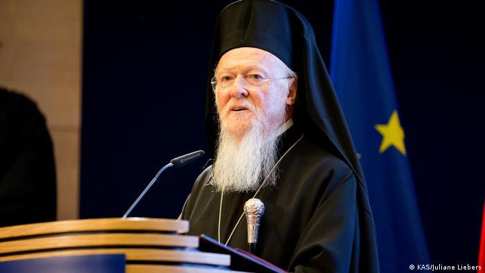 Berlin Konrad-Adenauer-Stiftung - Rede des Ökumenischen Patriarchen von Konstantinopel Bartholomäus zum Thema: Orthodoxie und Menschenrechte (KAS/Juliane Liebers)