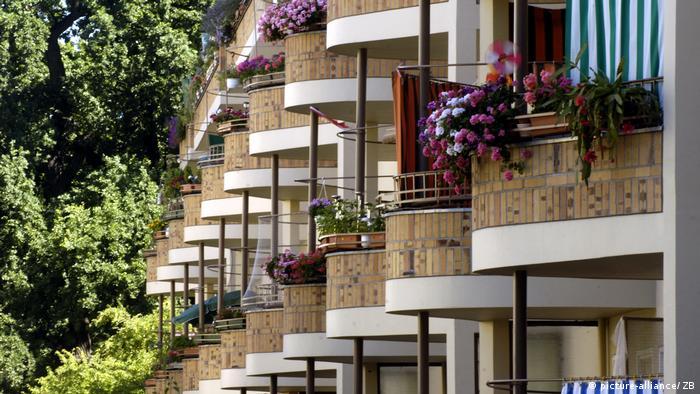 Bauhaus-Stätten Welterbe Ringsiedlung Siemensstadt in Berlin (picture-alliance/ ZB)