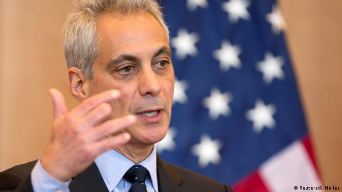 USA Chicago - Bürgermeister Mayor Rahm Emanuel (Reuters/A. Nelles)