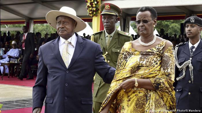 Yoweri Museveni and Janet Museveni