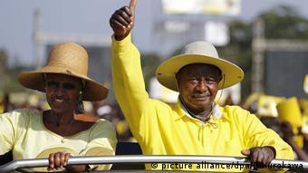 Janet Museveni Yoweri Museveni