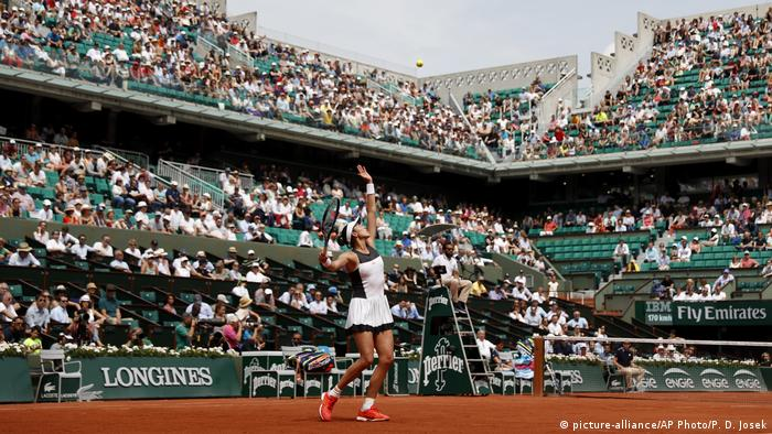 Tennis French Open Garbine Muguruza (picture-alliance/AP Photo/P. D. Josek)