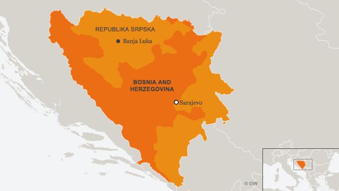 Karte Bosnien Herzegowina