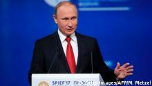 St. Petersburg International Economic Forum | Wladimir Putin