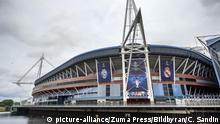 The Millenium stadium in Cardiff
