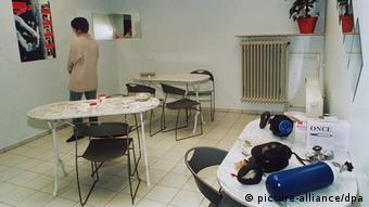 Frankfurt abriu a primeira sala supervisionada para o consumo de drogas do país