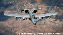 USA Operation Inherent Resolve- A-10 Thunderbolt II