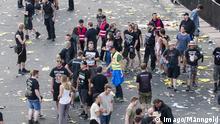Deutschland Rock am Ring wegen terroristischer Bedrohung unterbrochen