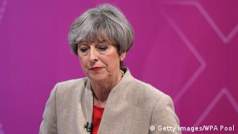 Britannien Wahlen 2017 - BBC - Theresa May (Getty Images/WPA Pool)