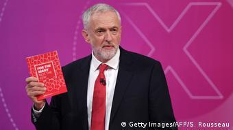 Britannien Wahlen 2017 - BBC - Jeremy Corbyn