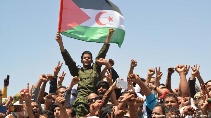 Polisario Front separatists in Algeria (picture alliance/AP Photo/S. Djarboub)