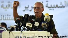 Algerien - Westsahara - Polisario - Brahim Ghali