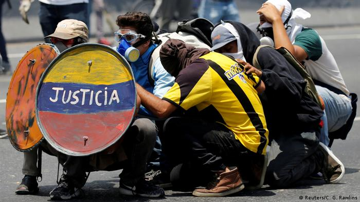 Venezuela Proteste in Caracas (Reuters/C. G. Rawlins)