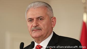 O πρωθυπουργός της Τουρκίας Μπιναλί Γιλντιρίμ