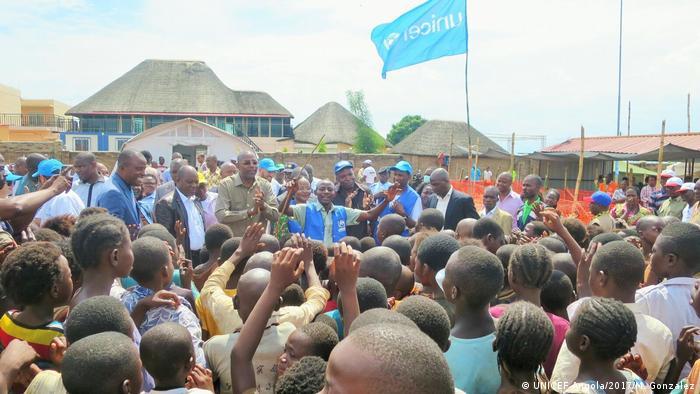 UNICEF Angola - Flüchtlingskrise (UNICEF Angola/2017/M. Gonzalez)