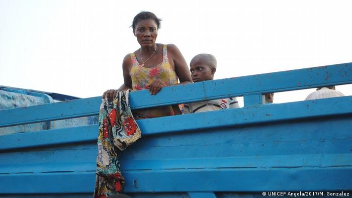 UNICEF Angola - Flüchtlingskrise
