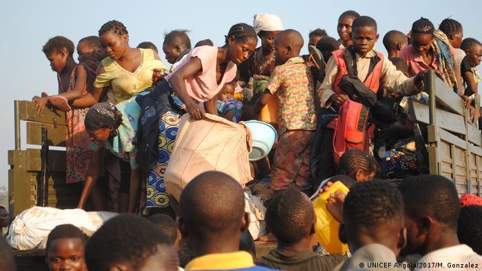 Refugiados congoleses em Angola (Foto de arquivo/2017)
