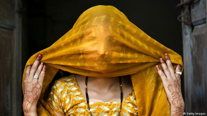 An Indian woman (Getty Images)