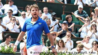 Frankreich Roland Garros 2017 | Stan Wawrinka (picture alliance/Visual Press Agency/S. Kobo )