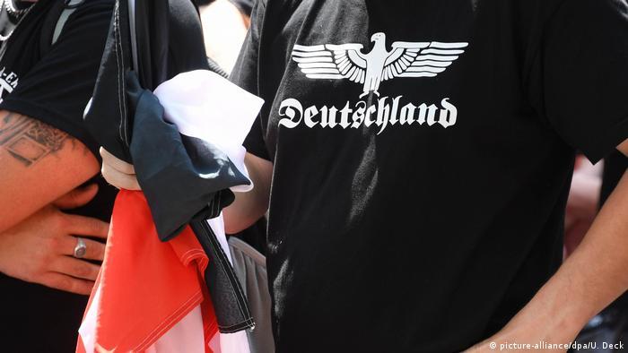 Demonstracija desnih ekstremistau Karlsruheu