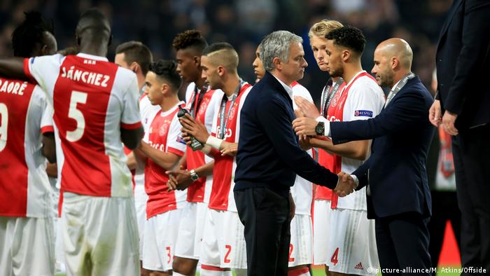Europa League Finale - Ajax Amsterdam - Manchester United - Peter Bosz (picture-alliance/M. Atkins/Offside)