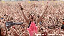 Deutschland Musikfestival Rock am Ring