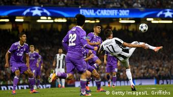 UEFA Champions League Final - Juventus v Real Madrid - Tor Mandzukic - 1:1 (Getty Images/L. Griffiths)