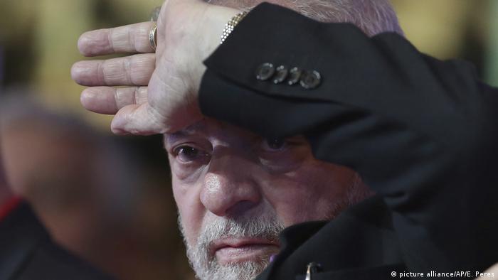 Brasilien ehemaliger Präsident Luiz Inacio Lula da Silva (picture alliance/AP/E. Peres)
