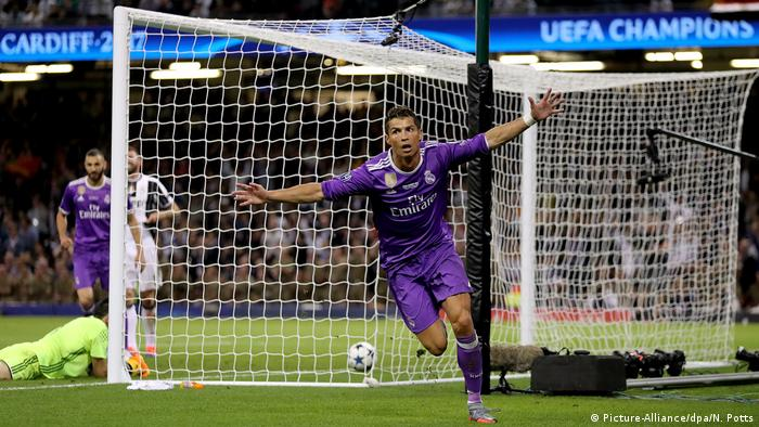 UEFA Champions League Final - Juventus vs. Real Madrid - 1:2 - Tor