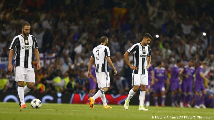 UEFA Champions League Final - Juventus vs. Real Madrid - 1:2 - Enttäuschung (Picture-Alliance/AP Photo/D. Thompson)