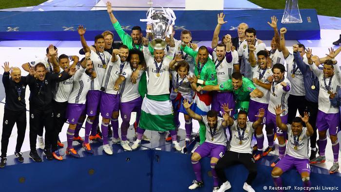 Juventus vs. Real Madrid - UEFA Champions League Final Pokal (Reuters/P. Kopczynski Livepic)
