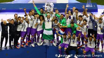 Juventus vs. Real Madrid - UEFA Champions League Final Pokal