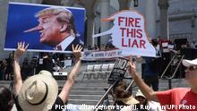 USA Anti-Trump Demo March for Truth