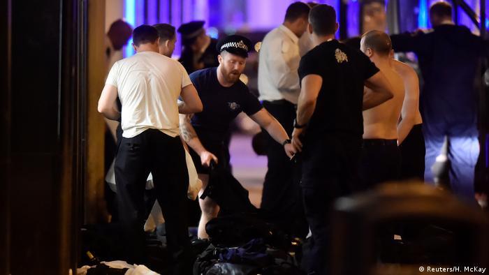 England Vorfall auf der London Bridge Mehrere Fußgänger angefahren (Reuters/H. McKay)