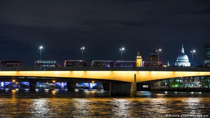 England Vorfall auf der London Bridge Mehrere Fußgänger angefahren (Picture alliance/Zumapress)