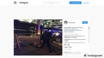 Instagram London Bridge Vorfall (Instagram)
