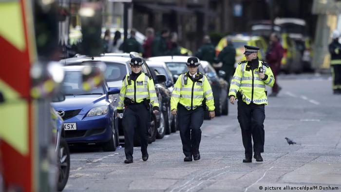 Polizei in London (picture alliance/dpa/M.Dunham)