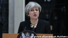 Theresa May London Ansprache