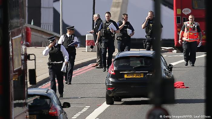 Britannien London - Terroranschlag (Getty Images/AFP/D. Leal-Ollivas)