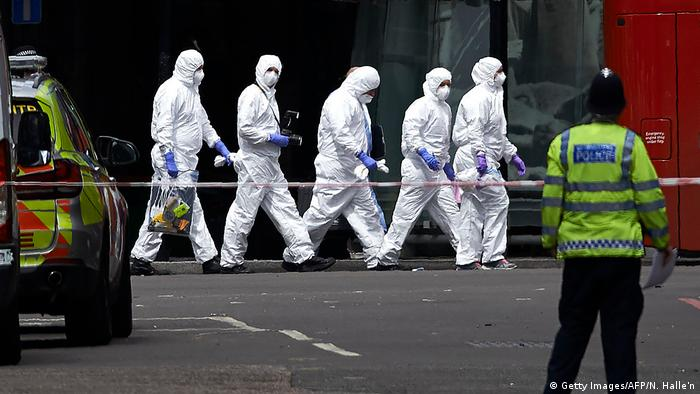 Britannien London - Terroranschlag (Getty Images/AFP/N. Halle'n)