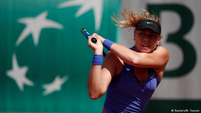 Tennis French Open 2017 - Carina Witthoeft (Reuters/B. Tessier)