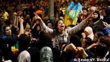 Marokko Anit-Regierungsproteste