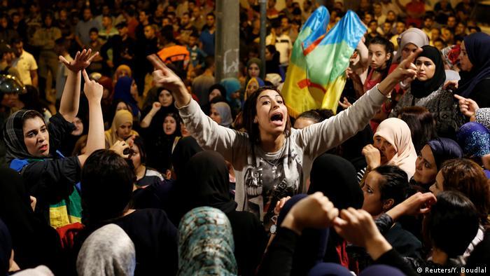 Marokko Anit-Regierungsproteste (Reuters/Y. Boudlal)