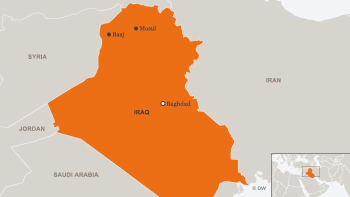 Karte Irak ENG