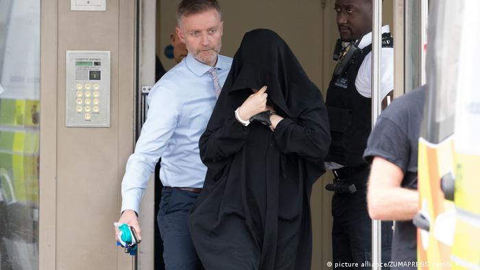 Großbritannien London – nach dem Terroranschlag - Festnahme (picture alliance/ZUMAPRESS.com/V. Flores)