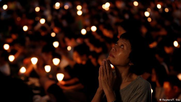 China Gedenken an Tian'anmen - Massaker (Reuters/T. Siu)