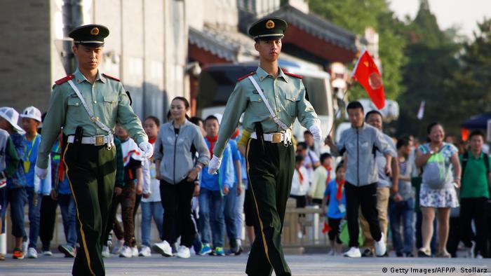 China Gedenken an Tian'anmen - Massaker (Reuters/T. Peter)
