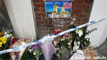 Flowers and messages lie behind police cordon tape near Borough Market after an attack left 7 people dead and dozens injured in London, Britain, June 4, 2017. REUTERS/Peter Nicholls