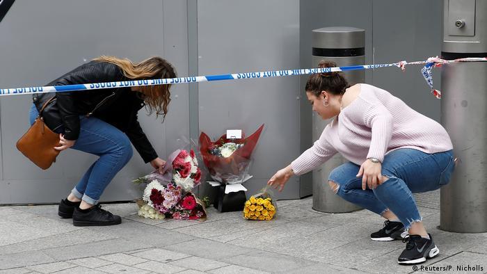 UK London am Tag nach dem Anschlag