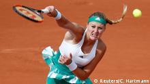 Frankreich French Open 2017 | Kristina Mladenovic gegen Garbine Muguruza